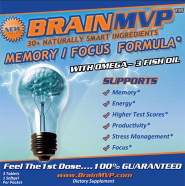 Brain Pill Label
